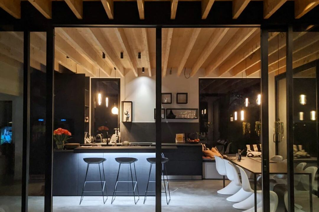 night HW uai | Baeyens & Beck architecten Gent | architect nieuwbouw renovatie interieur | high end | architectenbureau