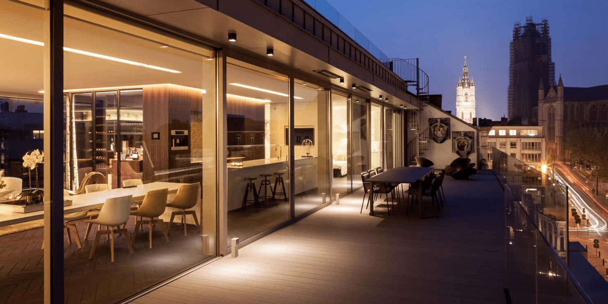 paris night | Baeyens & Beck architecten Gent | architect nieuwbouw renovatie interieur | high end | architectenbureau