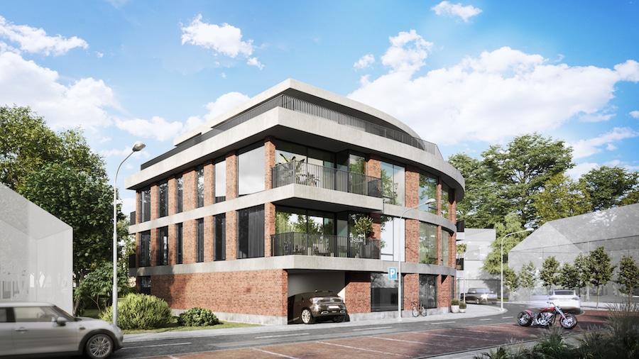 baksteen zij voorkant   Baeyens & Beck architecten Gent   architect nieuwbouw renovatie interieur   high end   architectenbureau