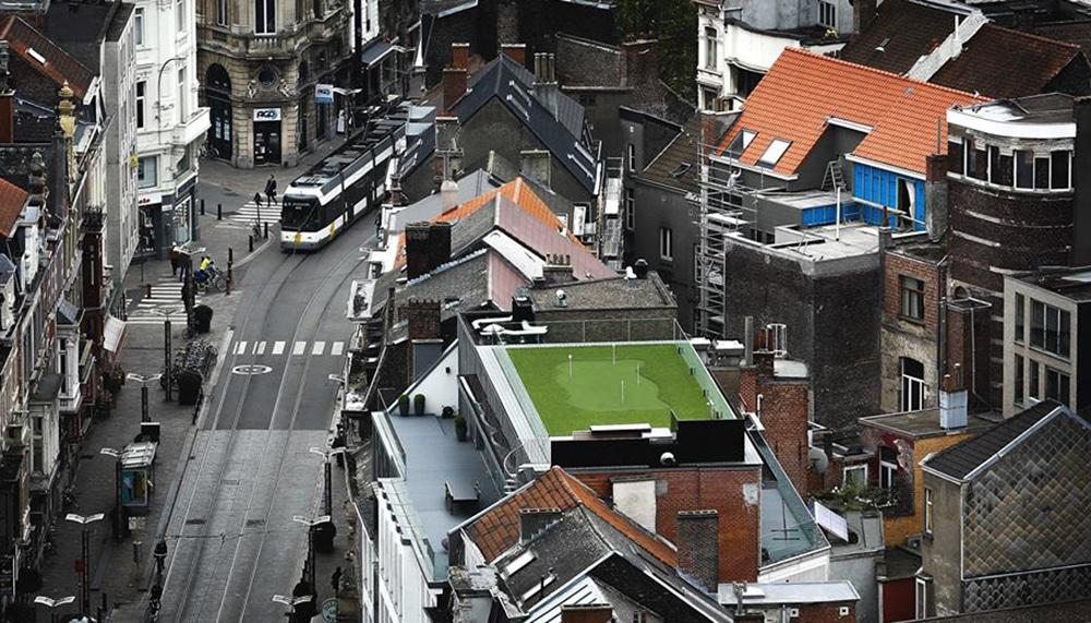 golf1 | Baeyens & Beck architecten Gent | architect nieuwbouw renovatie interieur | high end | architectenbureau